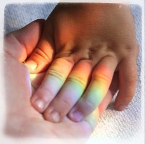 5 Experiences Rainbow Mum's and Non-Loss Mum's Have In Common